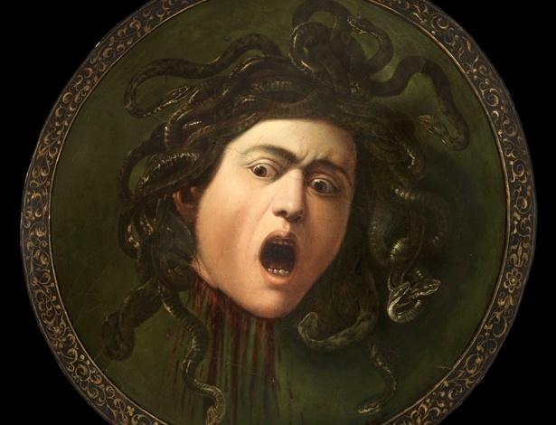 """""""Medusa Murtola"""", de Caravaggio, apenas recentemente teve sua autoria comprovada"""