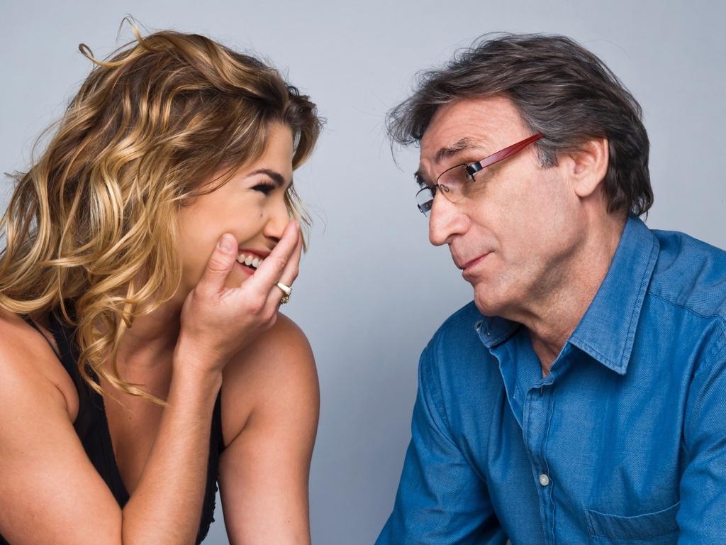 Herson Capri e Priscila Fantin na peça ?A Entrevista?, de 16 de novembro a 16 de dezembro no Teatro Vivo, em São Paulo