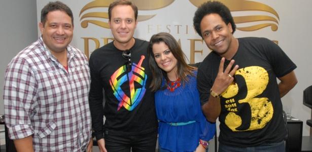 """Fernandinho, André Valadão, Ana Paula Valadão e Thalles estão no """"Festival Promessas"""" neste sábado (8)"""