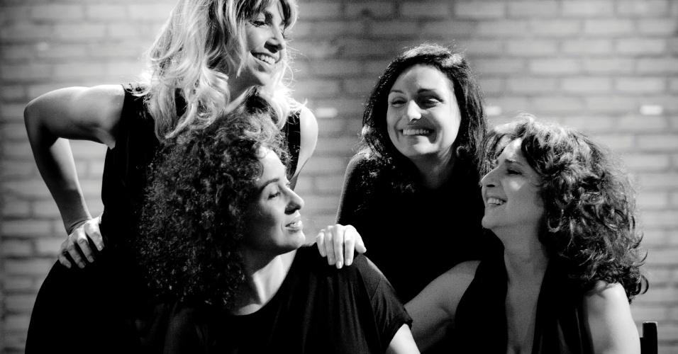 """Atrizes da peça """"O Teatro é uma mulher"""", que estreia no dia 13 de janeiro no Teatro Ipanema, Rio de Janeiro"""