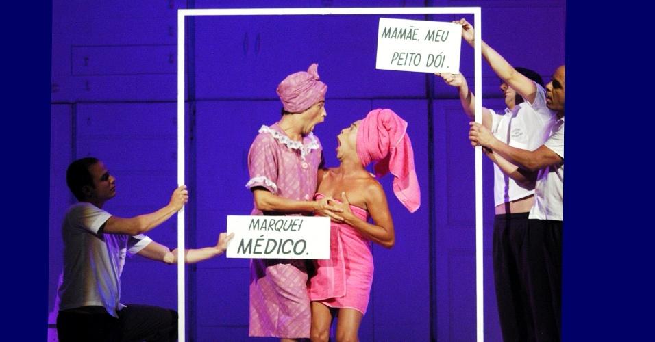 """Cena de """"Ópera"""", em cartaz desde 3 de janeiro no Teatro Glauce Rocha"""