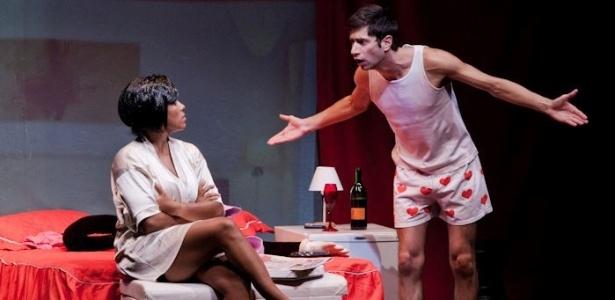 """Encenação da peça """"Não Durma de Conchinha"""" no Rio de Janeiro em 2011"""