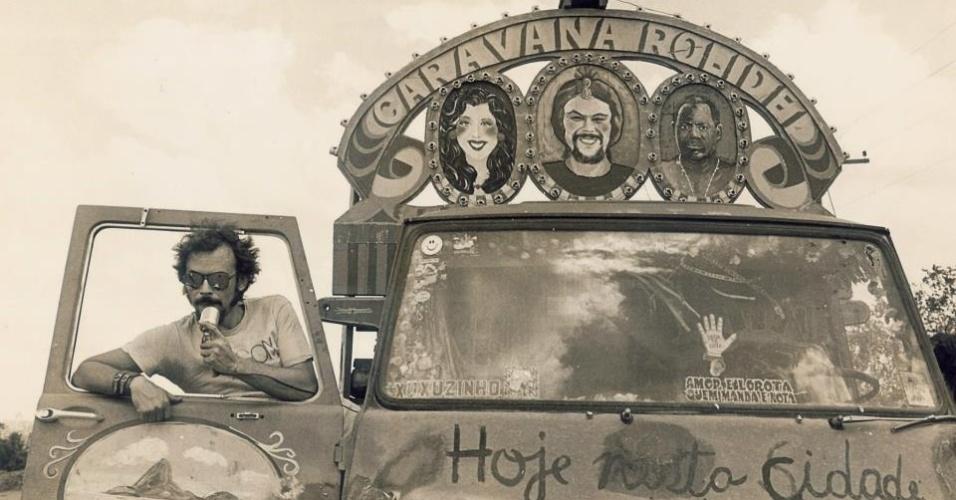 Betty Faria e José Wilker são artistas mambembes no premiado