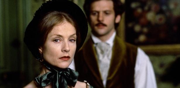 """Cena de """"Madame Bovary"""" com Isabelle Huppert, que será exibido na sexta"""