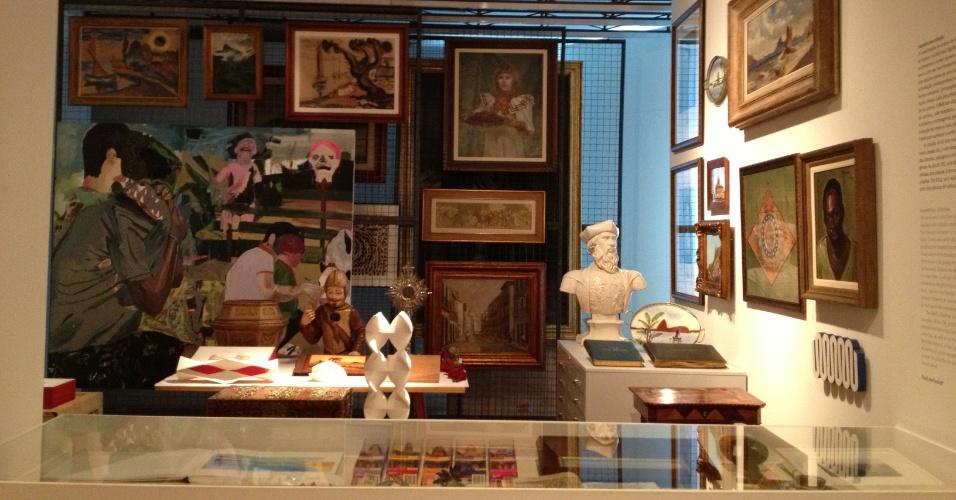Sala de obras doadas para o do Museu de Arte do Rio (MAR)
