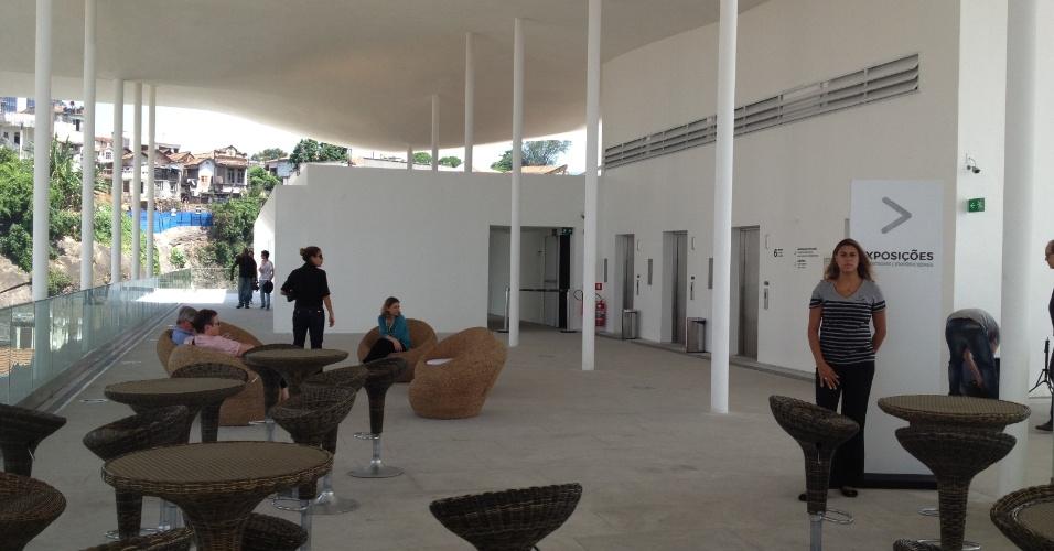 Terraço do Museu de Arte do Rio (MAR)