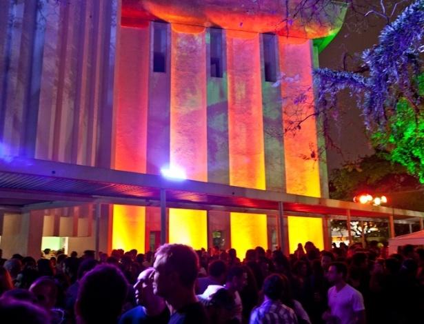 Edição da festa Green Sunset no MIS - Juliana Knobel/Divulgação
