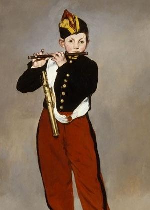 """""""O tocador de pífano"""" (""""Le fifre""""), de Edouard Manet - Divulgação"""