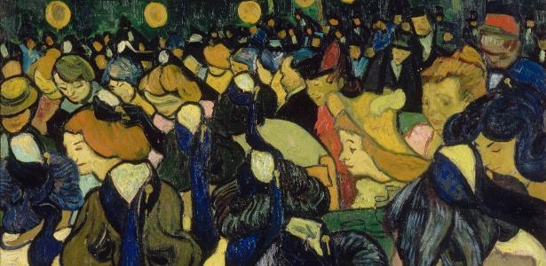 """O salão de dança de Arles"" (""La salle de danse à Arles"", 1888), de Vincent Van Gogh - Divulgação"