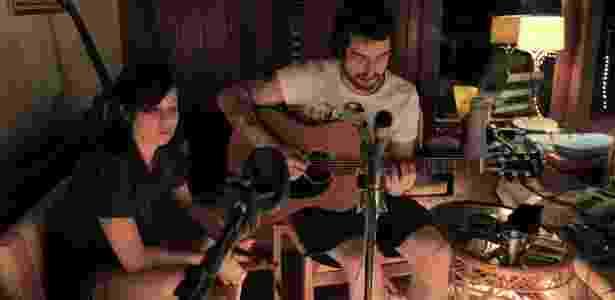 A dupla Agridoce, formada por Pitty e o guitarrista Martin - Otavio Sousa/Divulgação