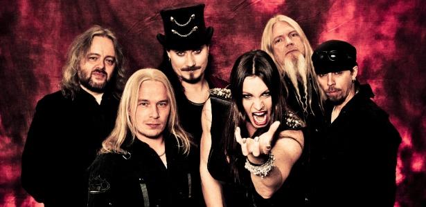 11.dez.2012 - Os finlandeses do Nightwish em imagem de divulgação