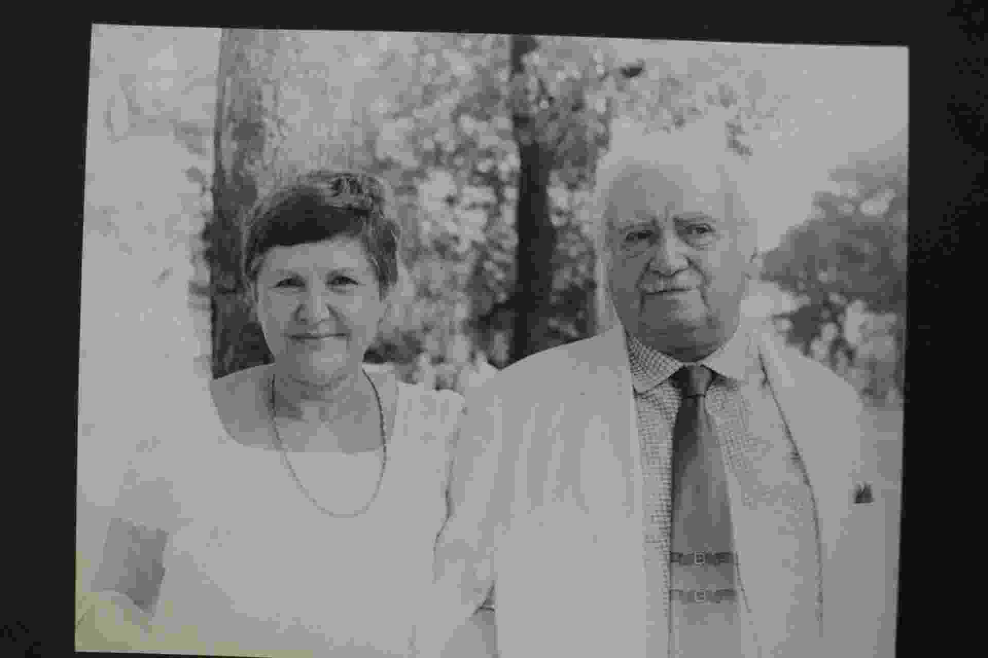 Jorge Amado e sua esposa durante uma visita a? Biblioteca Nacional. Datada entre 1984 e 1986. Exposição até o final de fevereiro, no Museu Nacional no Rio - Divulgação