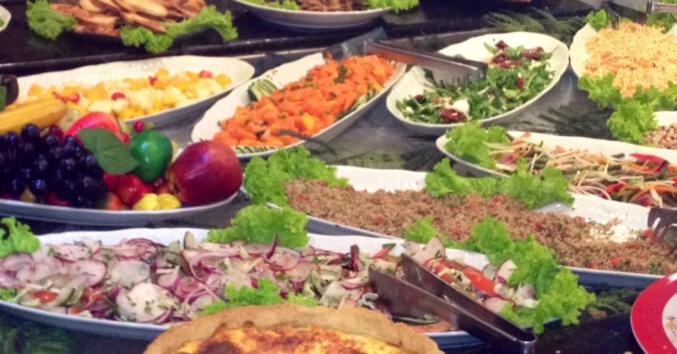 Buffet do Restaurante Route Américas